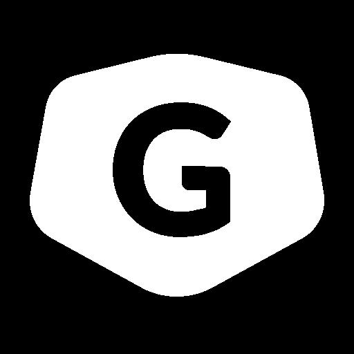 Transparent white shield